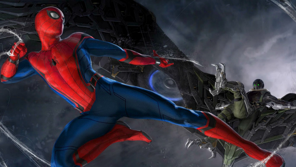 Spider-Man V. The Vulture concept art