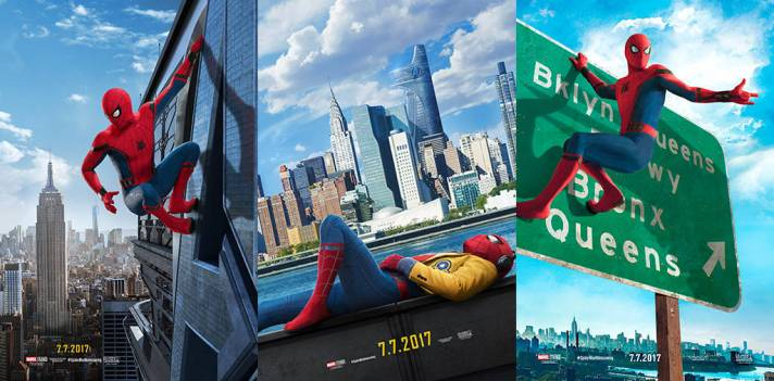 Spider-Man Homecoming Poster Banner