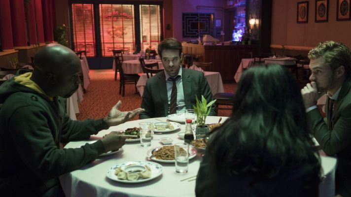 Defenders Eating